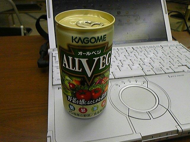 カゴメのオールベジ190g<br />  缶