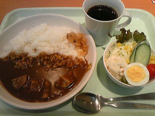 福岡空港のモーニングカレー730<br />  円