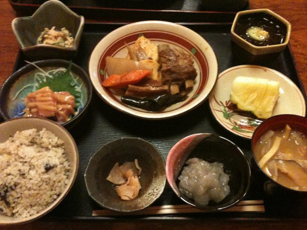 琉球料理のランチ