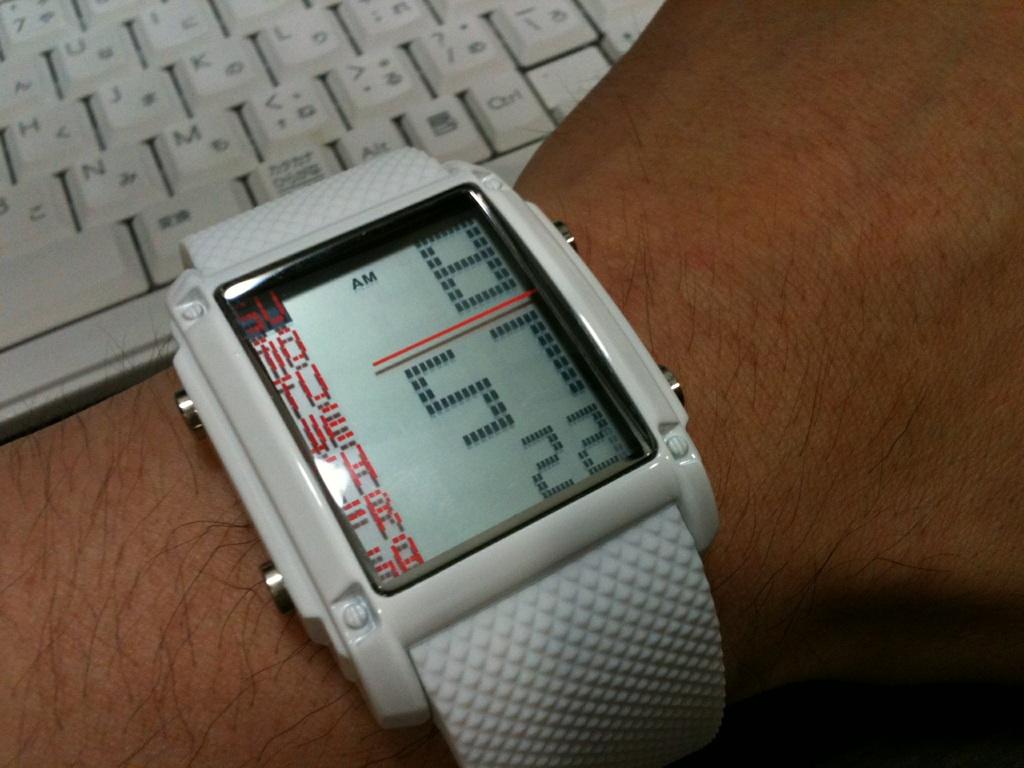 今、ファッショナブルな腕時計が流行っているらしい