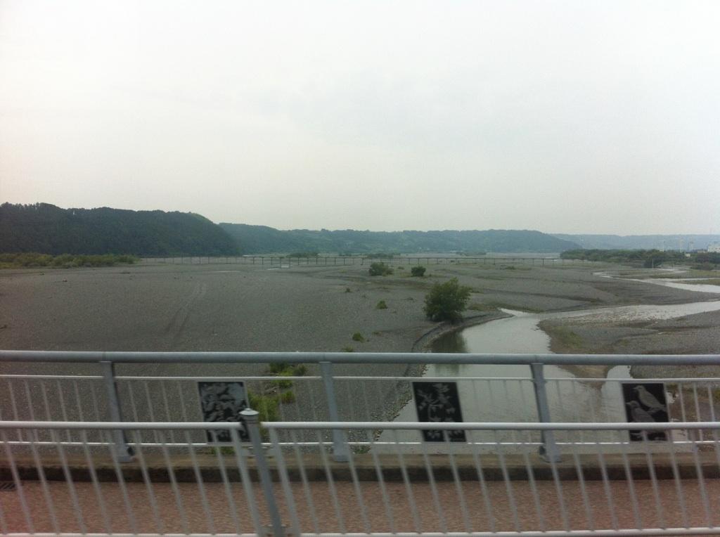 箱根八里は馬でも越すが、越すに越されぬ大井川